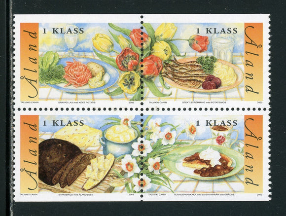 Aland Islands Scott #203 MNH BLOCK Cuisine CV$7+