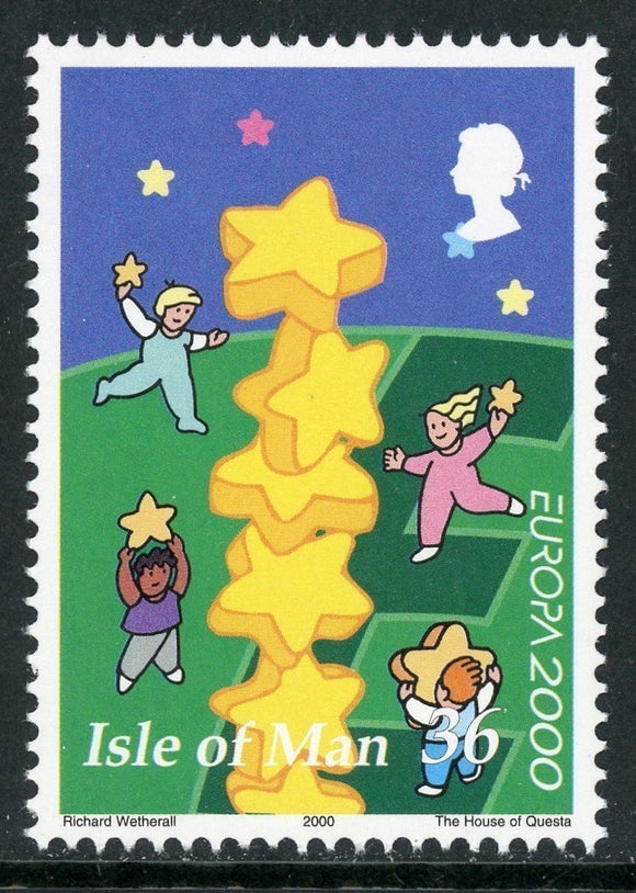 Isle of Man Scott #883 MNH Europa 2000 $$