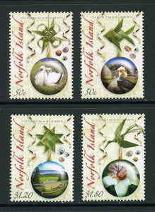 Norfolk Island Scott #895-898 MNH Christmas 2006 Tree Ornaments CV$15+