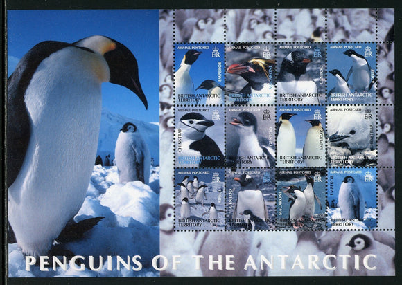 British Antarctic Territory Scott #C1 MNH S/S Penguins of the Antarctic CV$40+