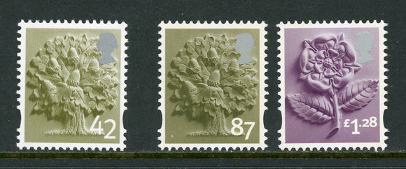 England Scott #11//27 MNH Royal Oak Rose 2005 and 2012 CV$9+