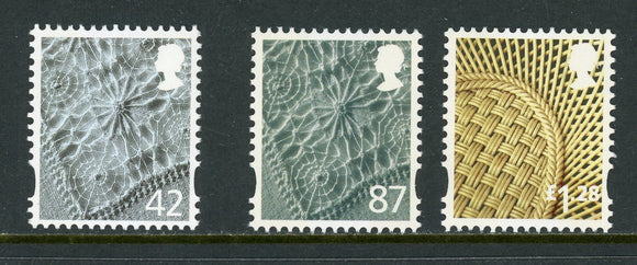 Northern Ireland Scott #22//38 MNH Linen Parian China 2005 and 2012 CV$10+