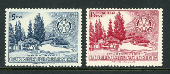 Colombia Scott #639//C274 MNH Rotary Int'l 75th ANN $$
