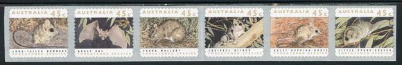 Australia Scott #1246e SA STRIP Threatened Species FAUNA TYPO CV$6+ ISH-1