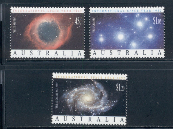 Australia Scott #1258-1260 MNH Int'l Space Year CV$4+ ISH-1