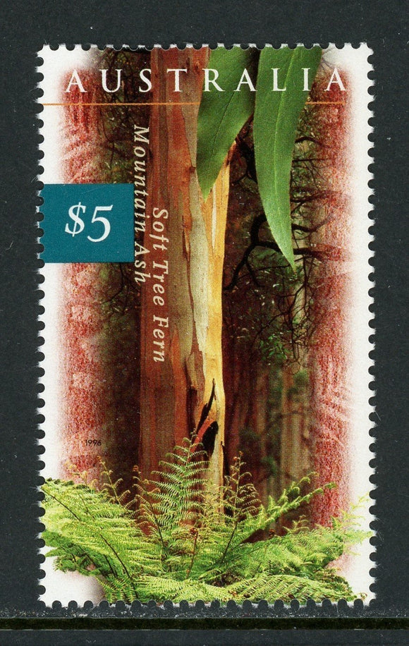 Australia Scott #1534 MNH Trees and Ferns FLORA CV$7+ ISH-1
