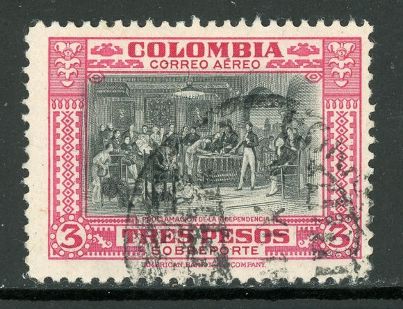 Colombia Scott #C162 U Independence Proclamation CV$3+