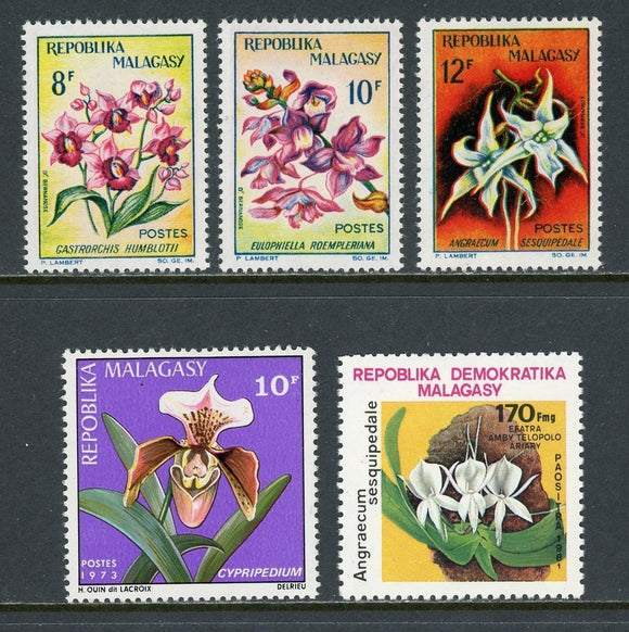 Orchid and Flower Topicals Assortment #1 Malagasy Republic $$