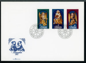 Liechtenstein Scott #751-753 FIRST DAY COVER Christmas 1982 $$ TH-1