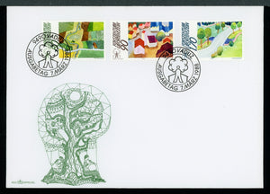 Liechtenstein Scott #882-884 FIRST DAY COVER European Land Conservation $$ TH-1