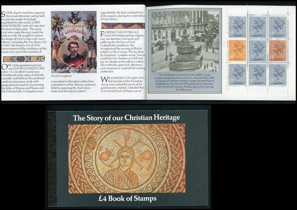 Great Britain Scott #BK148 MNH BOOKLET Christian Heritage CV$33+ ISH-1