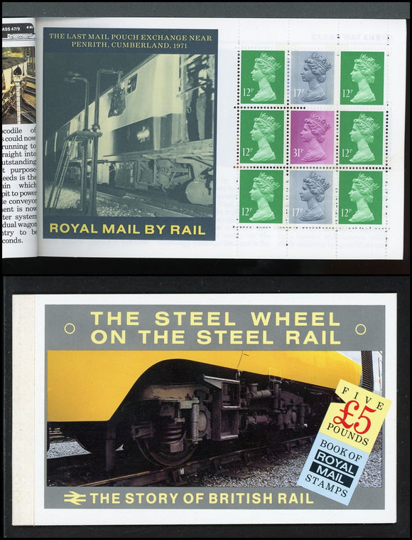 Great Britain Scott #BK150 MNH BOOKLET British Rail CV$18+ ISH-1