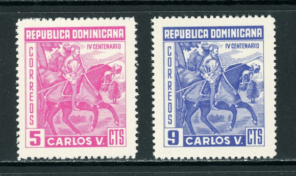 Dominican Republic Scott #516-517 MNH Charles V 400th Death ANN $$