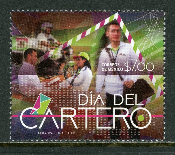 Mexico Scott #3075 MNH Letter Carrier's Day $$