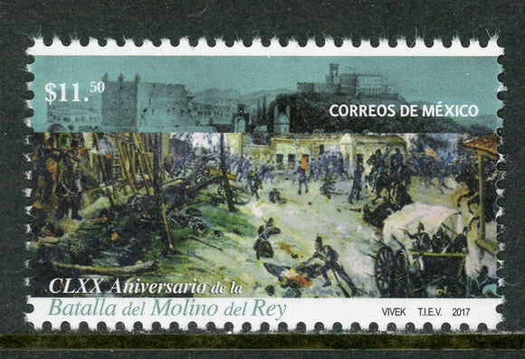 Mexico Scott #3080 MNH Battle of Molino del Rey $$
