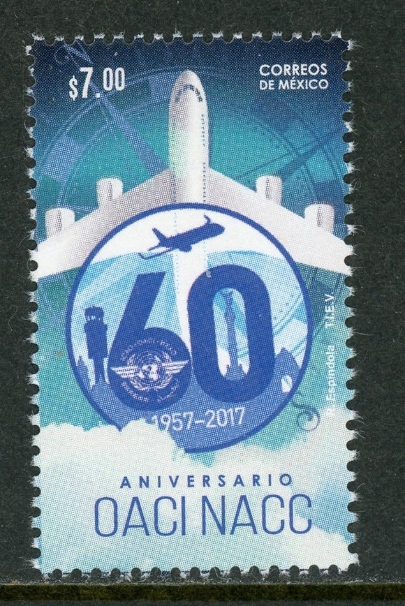 Mexico Scott #3083 MNH Int'l Civil Aviation Org. $$