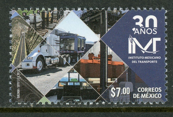 Mexico Scott #3088 MNH Mexican Institute of Transportation $$
