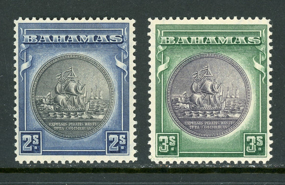 Bahamas Scott #88-89 MNH Seal of the Bahamas CV$75+ ISH-1