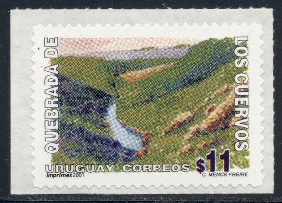 Uruguay Scott #1838 SA Crow's Gorge Nature Preserve CV$2+