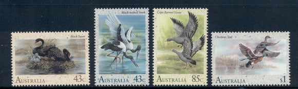 Australia Scott #1203-1206 MNH Water Birds Fauna CV$6+
