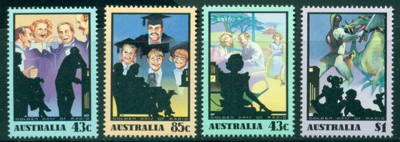 Australia Scott #1218-1221 MNH Golden Days of Radio CV$5+