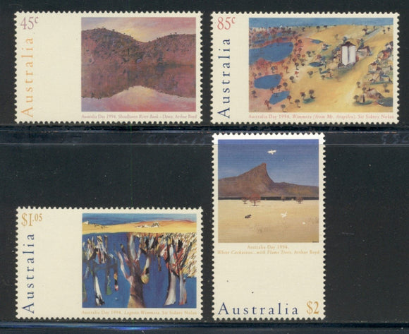 Australia Scott #1357-1360 MNH Australia Day Art CV$8+