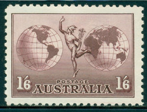 Australia Scott #C4 MLH Mercury and Hemisphere CV$40+