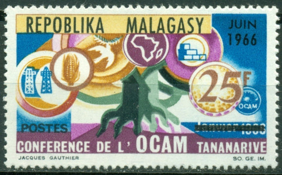 Malagasy Republic Scott #387 MNH African and Malagache Union OCAM $$
