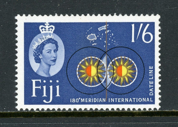 Fiji Scott #183 MNH 180th Meridian 1sh6p WMK 314 $$