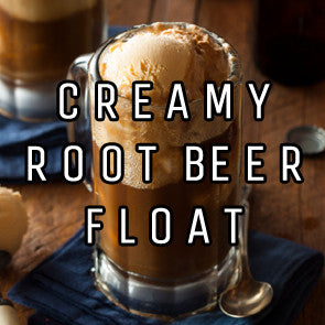 Creamy Root Beer Float
