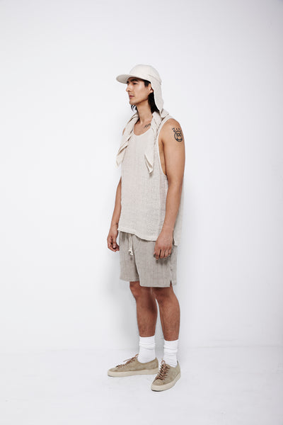 SS16 Look 12: Bandana / Tank Top / MT Short