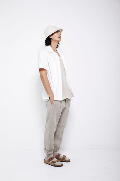 SS16 Look 2: Wedding Shirt / Tank Top / Tuck Pant