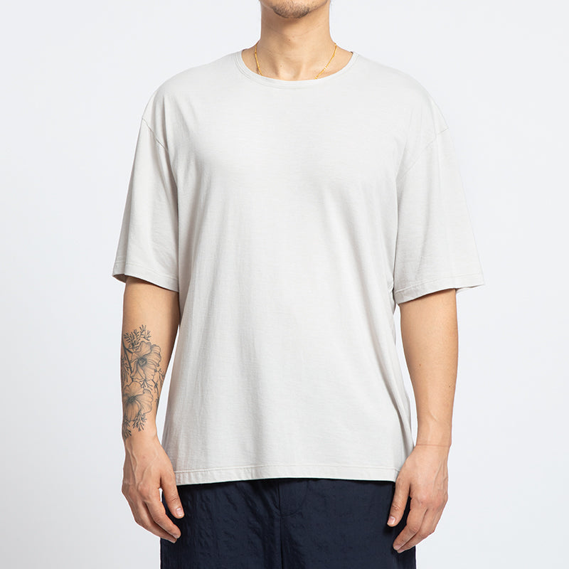 Short-sleeve Reversible T-Shirt - Bone
