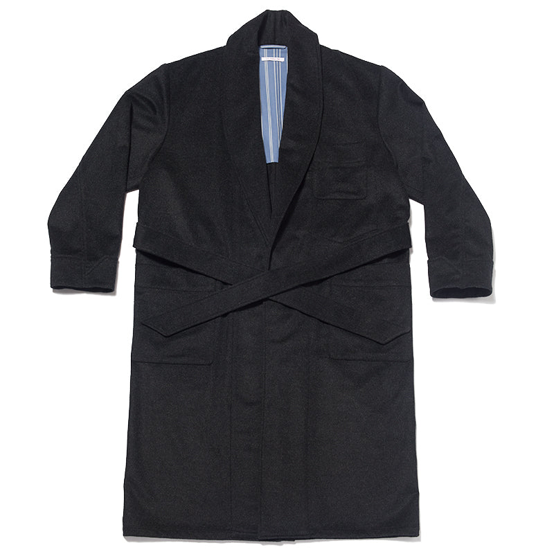 Wallace Robe - Charcoal Grey