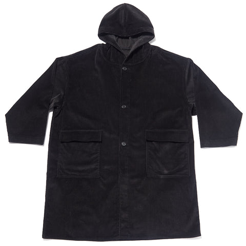 Canopy Coat - Black Corduroy