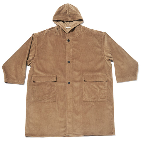 Canopy Coat - Taupe Corduroy