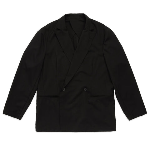 Darwin Blazer - Black Tropical Wool