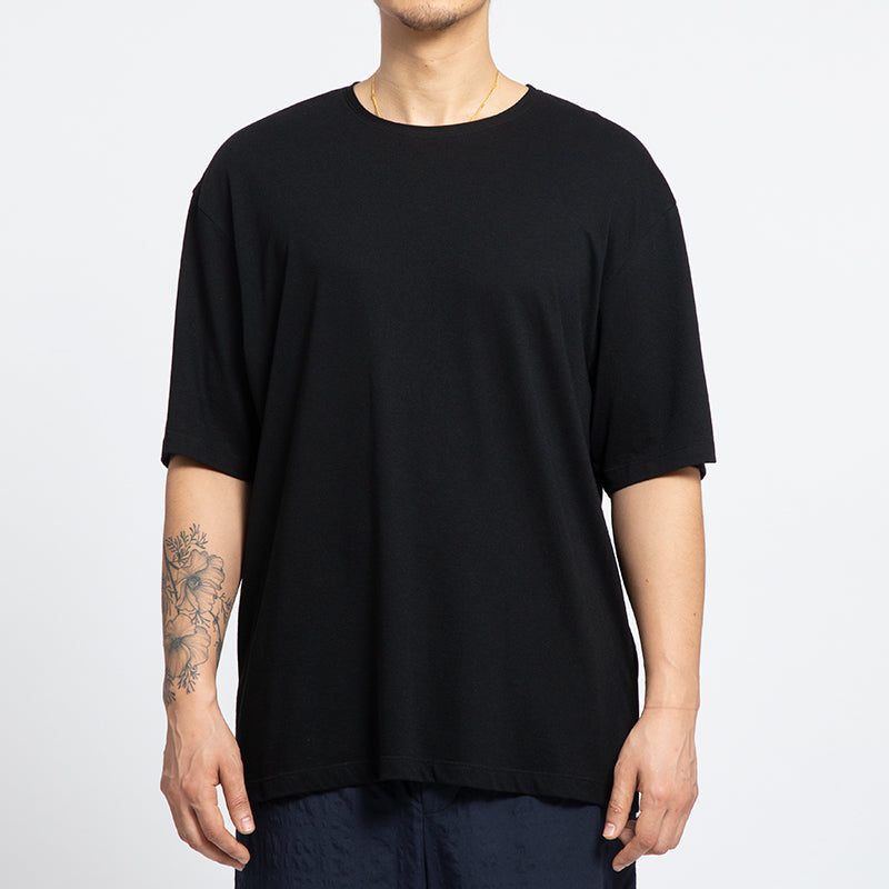 Short-sleeve Reversible T-Shirt - Black