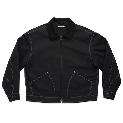Union Jacket - Black Cotton Twill WR/SR