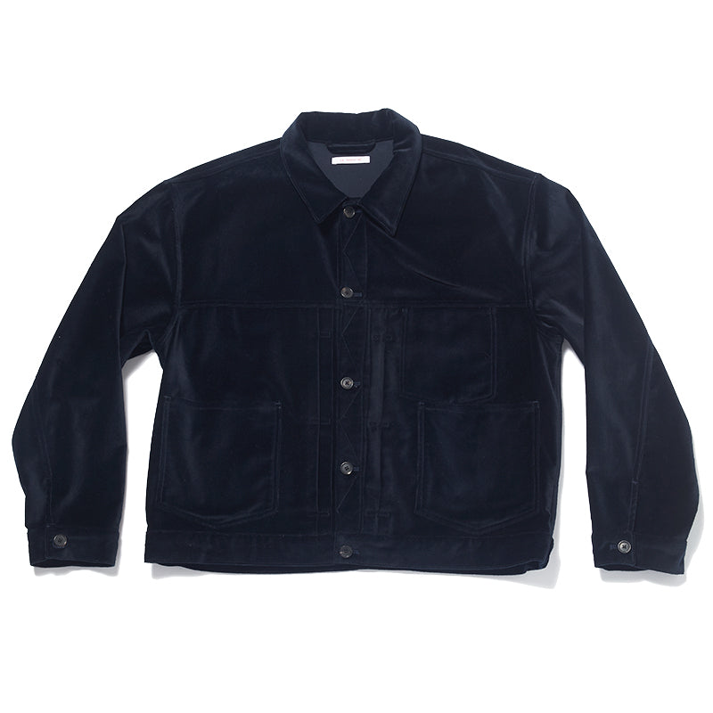 Type 100 Jacket - Navy Velvet