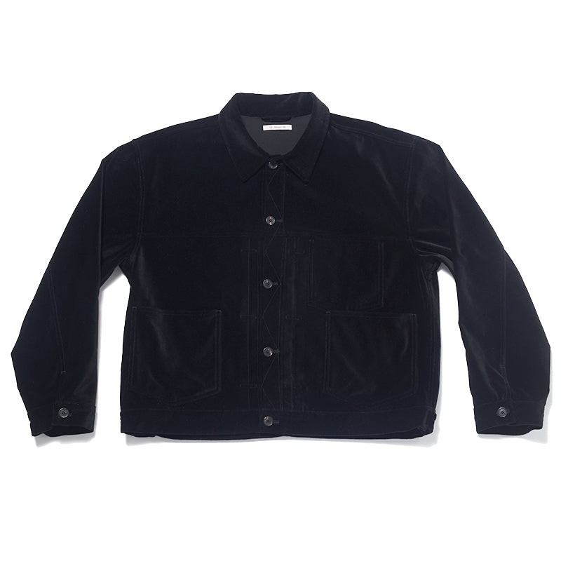 Type 100 Jacket - Black Velvet