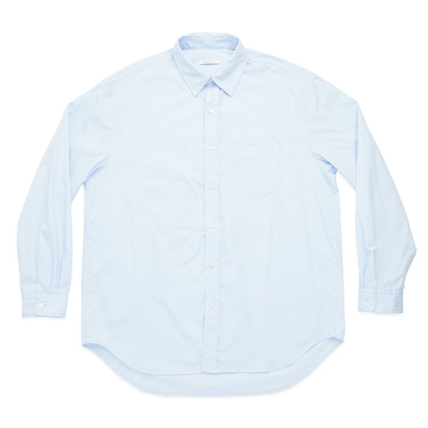Dexter Shirt - Light Blue Lux Cotton Poplin