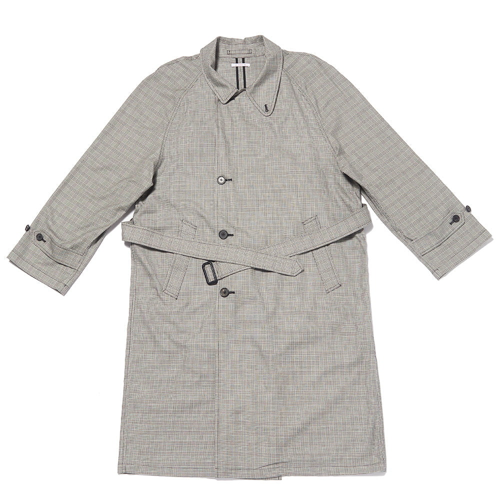 Delanore Trench Coat - Glen Check