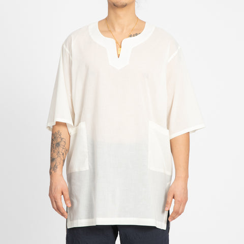 Translucent Natural Oba Shirt
