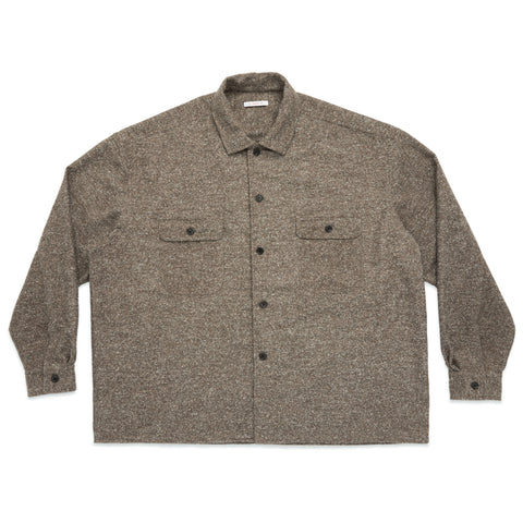 Park Shirt/Jacket - Brown Speckled Flannel