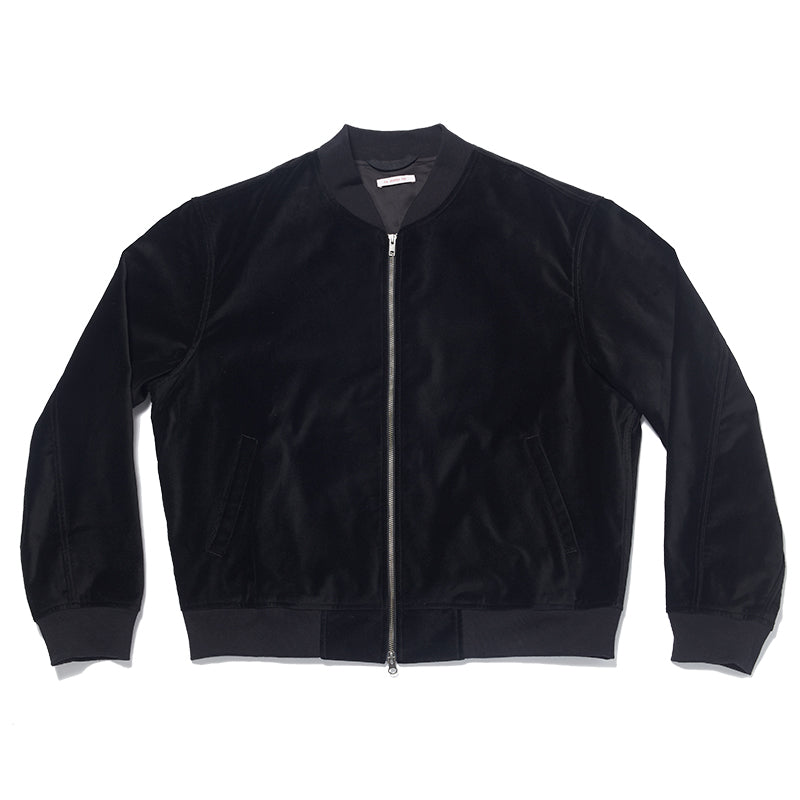 Bomber Jacket - Black Velvet