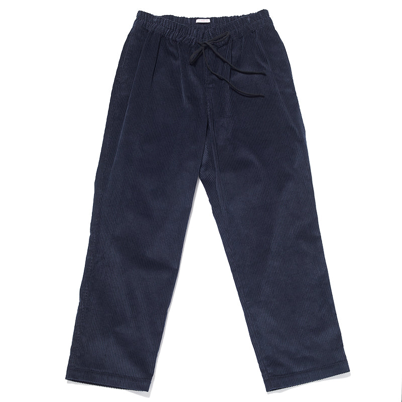 Coma Pant (wide fit) - Navy Corduroy