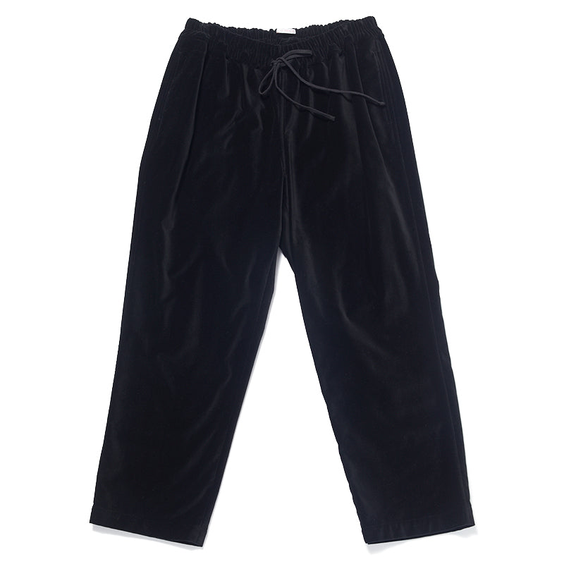 Coma Pant (wide fit) - Black Velvet