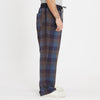 Nest Pant - Blue & Purple Plaid