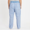 Nest Pant - Blue with Red Stripes